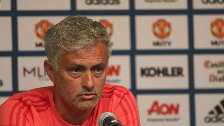 Jose Mourinho has voiced his concerns about Manchester United's pre-season