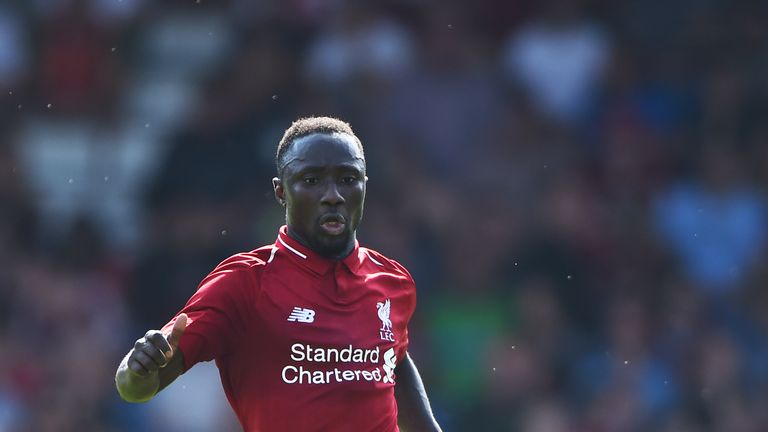 Naby Keita was signed last summer but joined the club this year