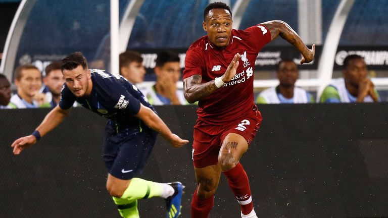 Nathaniel Clyne has left Liverpool's USA tour early due to family reasons