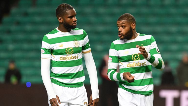 Odsonne Edouard and Olivier Ntcham are back in training following a car crash in Glasgow