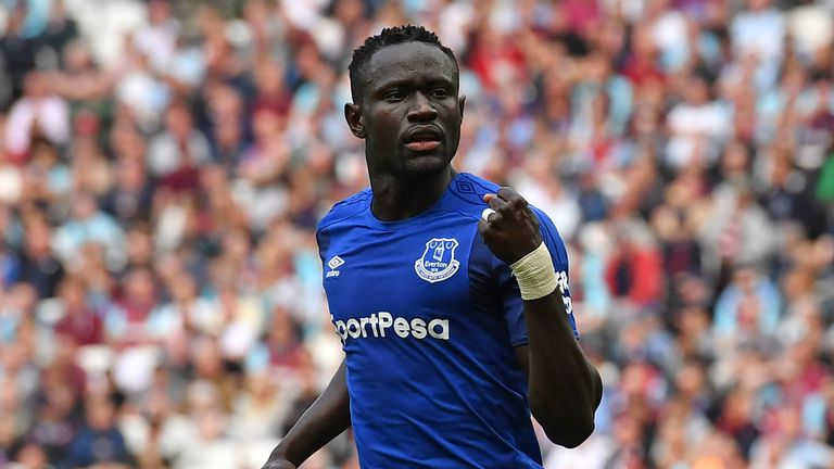 Everton will once again look to offload Oumar Niasse this summer