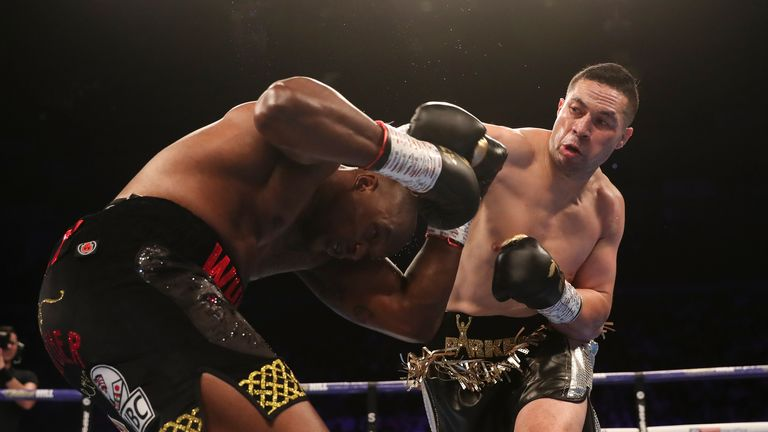 Parker floored Whyte but didn't get the judges' decision