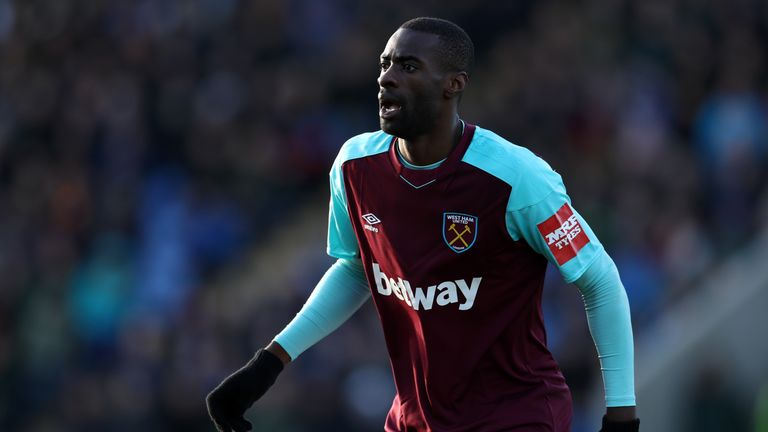 Pedro Obiang has four years left on his West Ham deal