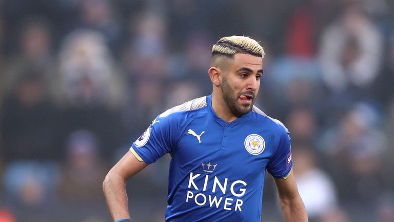 Riyad Mahrez joined Manchester City from Leicester on Wednesday