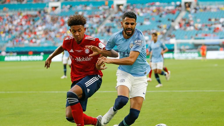 Riyad Mahrez joined Manchester City for £60m
