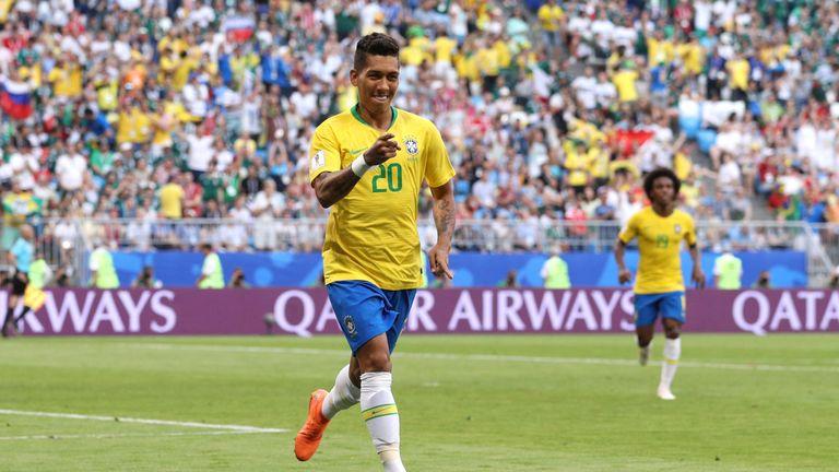 Roberto Firmino extends Brazil's lead in Samara