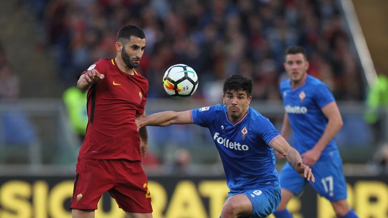 Crystal Palace make £8.9m offer for Roma midfielder Maxime Gonalons.