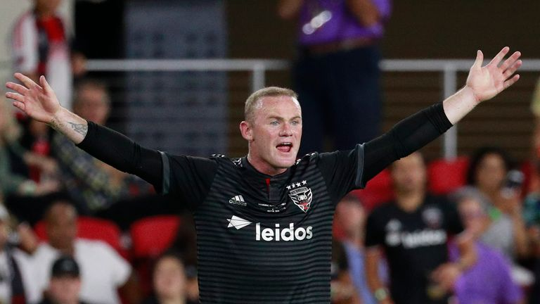 DC United will be hoping Wayne Rooney can inspire them to move up the Eastern Conference