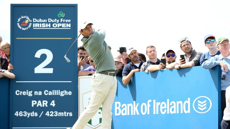 during day one of the Dubai Duty Free Irish Open at Ballyliffin Golf Club on July 5, 2018 in Donegal, Ireland.