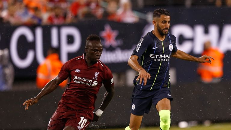 Sadio Mane sealed Liverpool's victory from the penalty spot