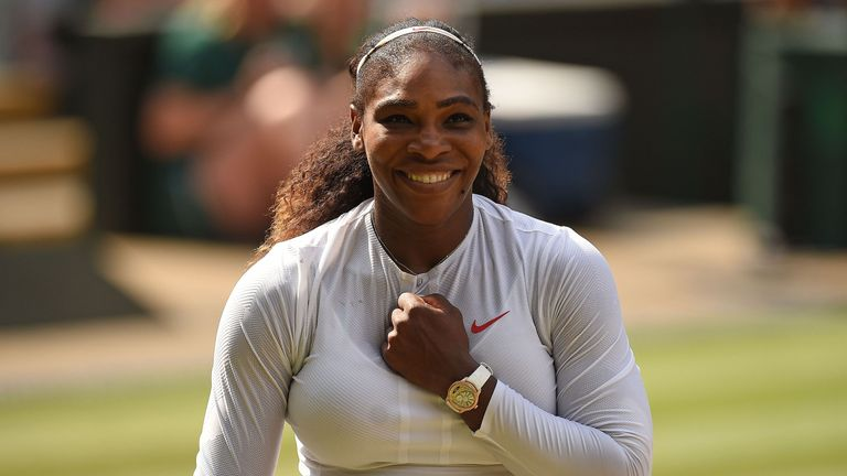 Williams reached the Wimbledon final less than a year after giving birth
