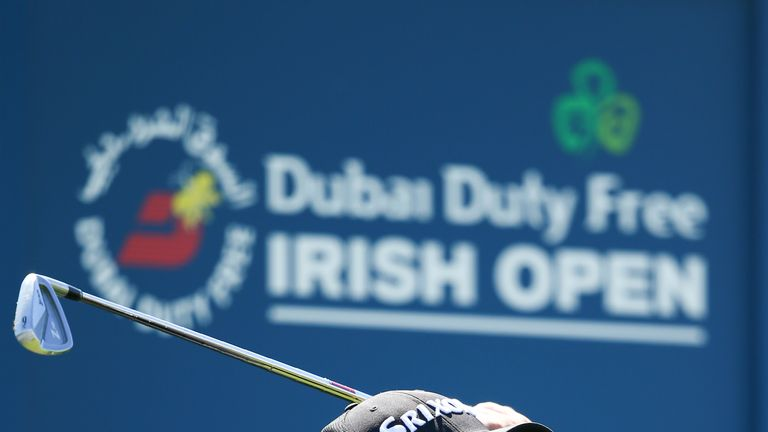 Shane Lowry holed his eight-iron at the 170-yard fifth