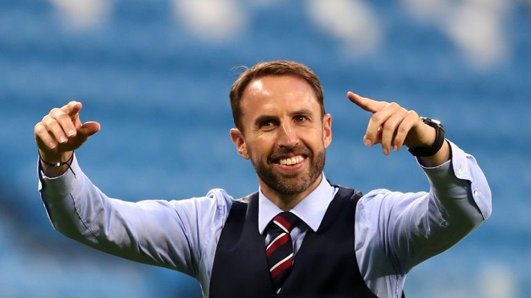 Gareth Southgate's England are in action