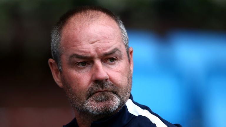 Steve Clarke is delighted by MacDonald's Scotland call-up