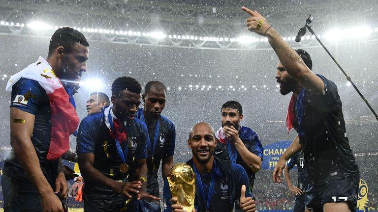 Steven Nzonzi was a World Cup winner