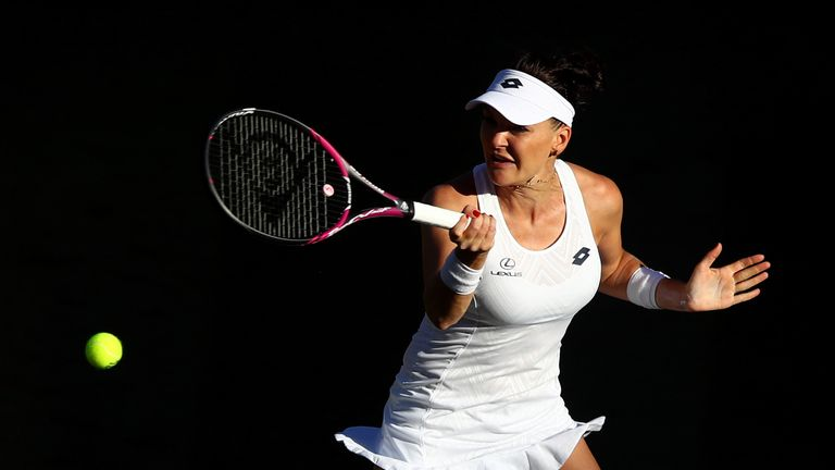 Agnieszka Radwanska reached the Wimbledon final in 2012