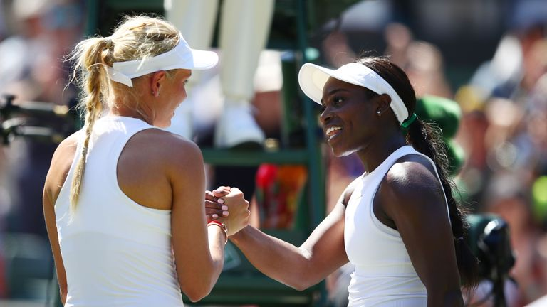 Vekic secured her first victory over Stephens in their second meeting