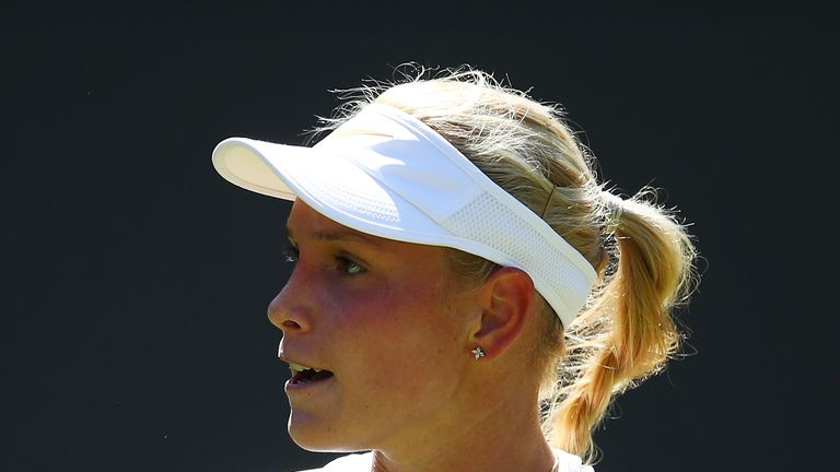 Donna Vekic holds a grass-court title from Nottingham last year to her name