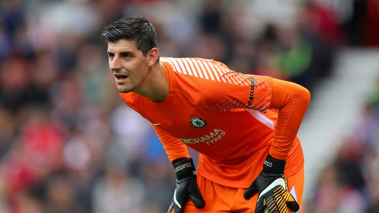 Thibaut Courtois has not returned to Chelsea after the World Cup
