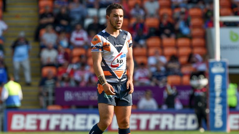 Tom Holmes is out of action until April due to a knee injury