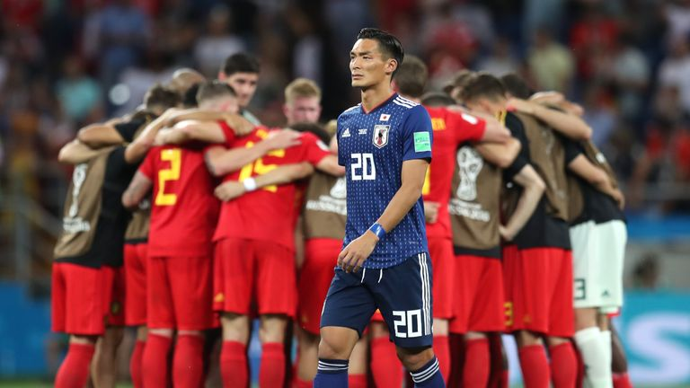 Japan were left heartbroken by their last-minute World Cup exit