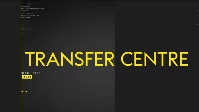 sky sports transfer centre