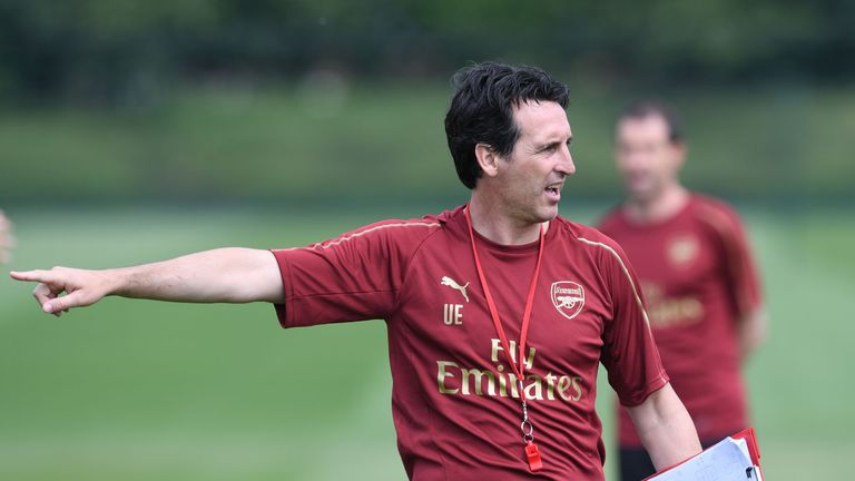 Unai Emery has already began preparing his squad for the new Premier League season