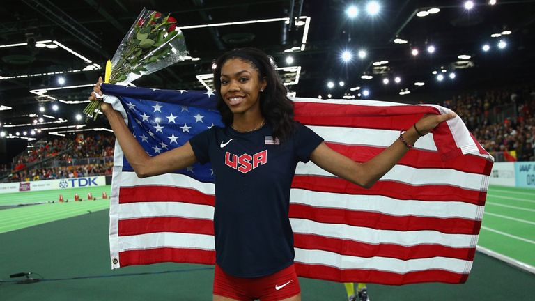 Vashti Cunningham is one of the stars of US athletics and will be in action at the Athletics World Cup