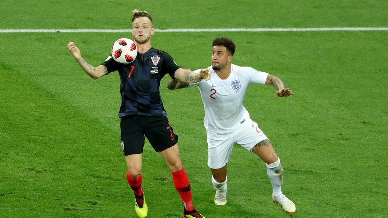 Croatia and England meet for the first time since their World Cup semi-final