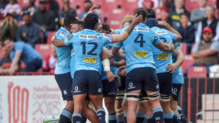 The Waratahs made the perfect start but were largely outplayed at the breakdown and set-piece