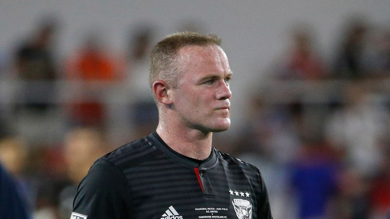Wayne Rooney on his debut for DC United (Pic: USA Today/MLSsoccer)