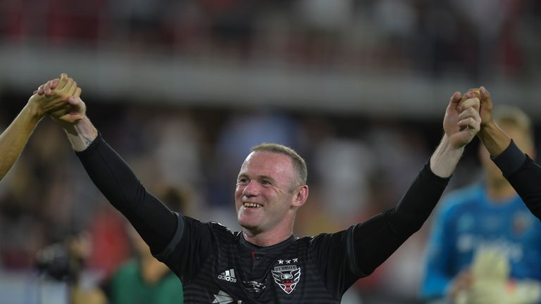 Wayne Rooney scored his first goal for DC in the 2-1 win over Colorado
