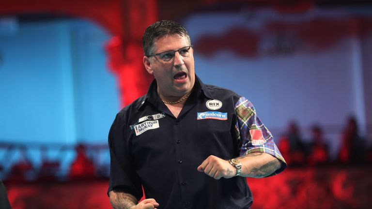 Gary Anderson will be targeting a maiden Grand Slam of Darts title in Wolverhampton