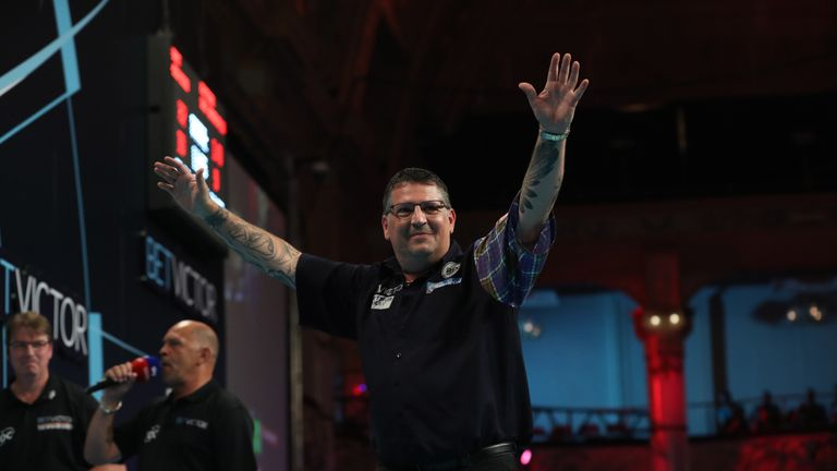 Gary Anderson has already scooped four TV titles in 2018