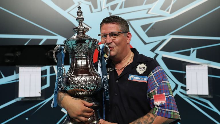 Gary Anderson picked up the World Matchplay title earlier this year and is chasing a third world crown