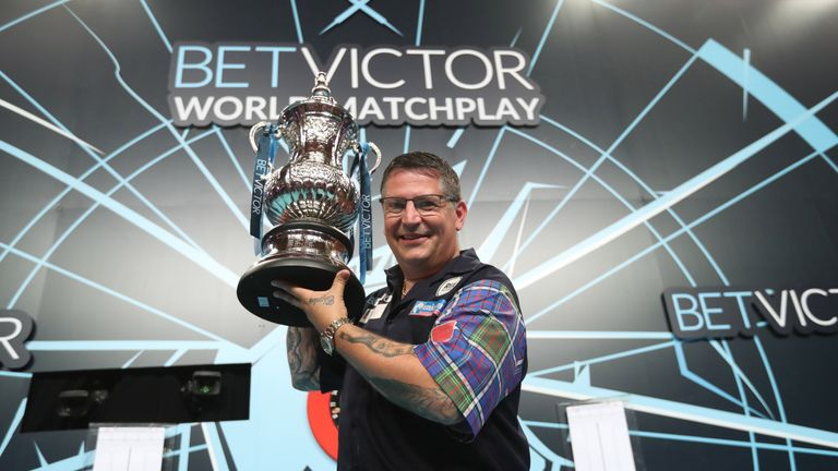 Two years ago Gary Anderson claimed his maiden Matchplay crown