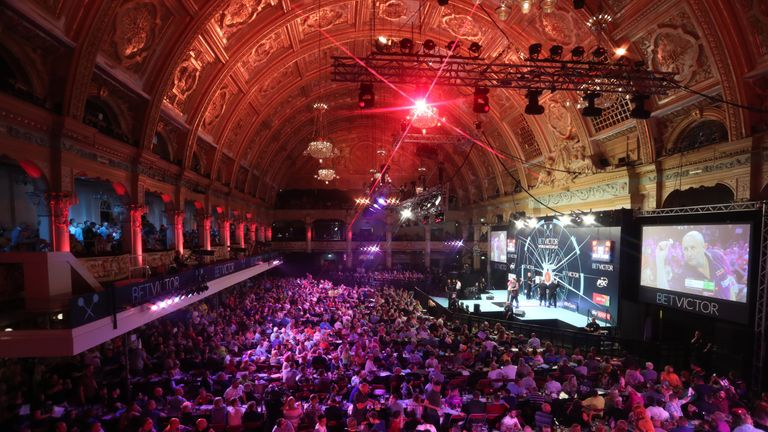 The Winter Gardens is one of the most iconic venues in world darts