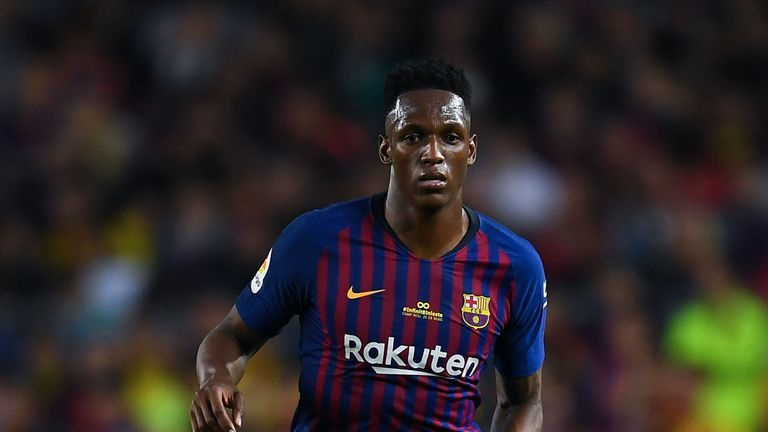 Could Barca defender Yerry Mina be joining Man Utd this summer?