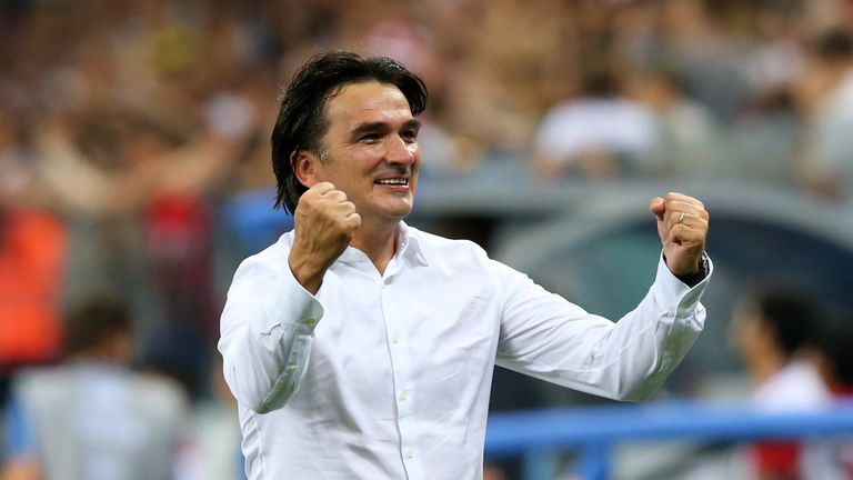 Croatia coach Zlatko Dalic has led them to their first World Cup final
