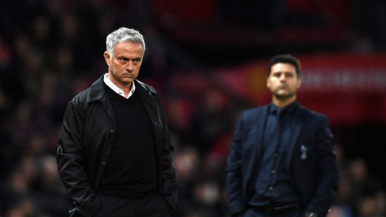 United's 3-0 defeat to Spurs on Monday was Mourinho's biggest home loss ever