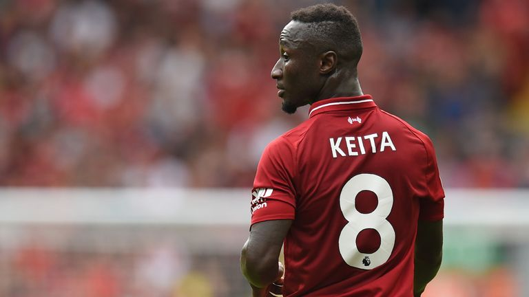 Naby Keita made an impressive Liverpool debut against West Ham