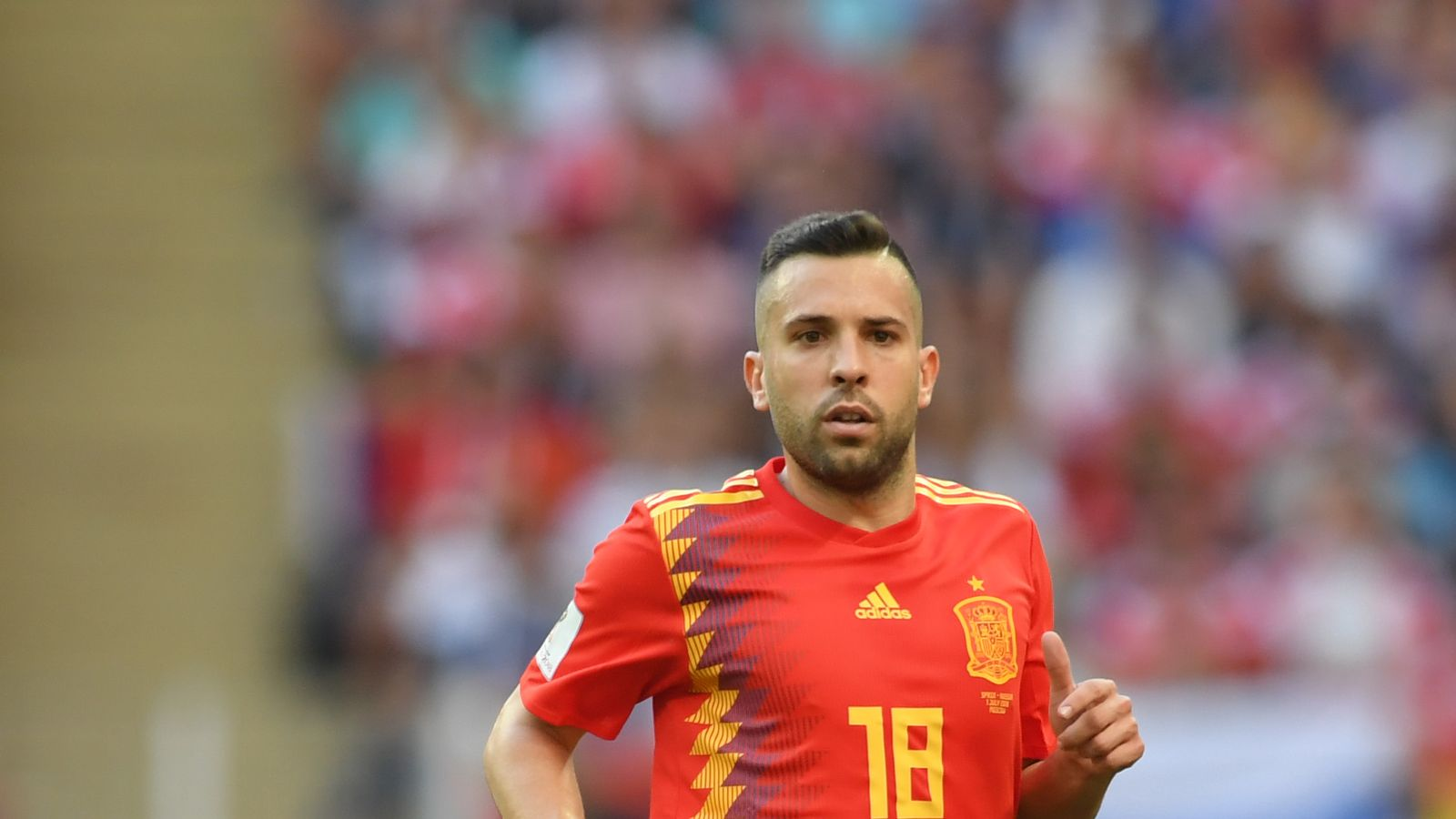 7ceacc566 Jordi Alba dropped by Spain ahead of Nations League game v England ...