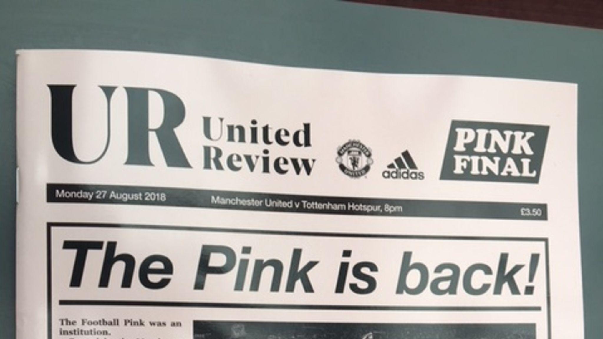 2d3582f1192 Manchester United unveil pink away shirt for 2018/19 season   Football News    Sky Sports