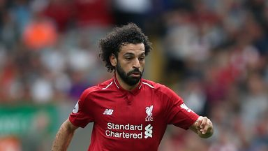 fifa live scores - Jurgen Klopp says Mohamed Salah has been 'outstanding' for Liverpool despite goalless run
