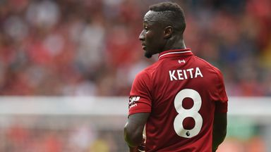 Naby Keita is yet to open his Liverpool account