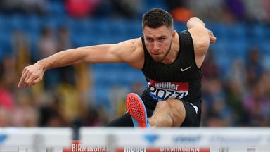 Andrew Pozzi will be hoping to retain his European indoor title in Glasgow