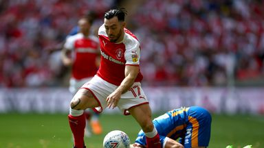 Richie Towell helped Rotherham secure promotion and has now returned for a second loan spell