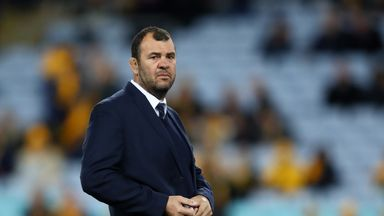Michael Cheika led the Wallabies to only four wins in 2018