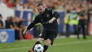 Wayne Rooney's stunning free-kick helped DC United to a 1-0 win over Toronto
