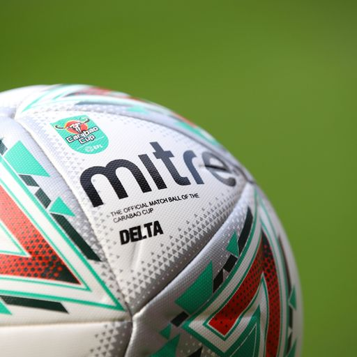 Latest Carabao Cup odds